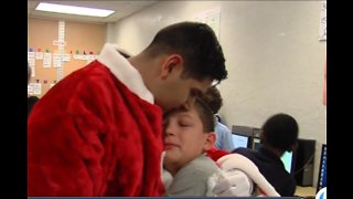 Military family receives an unexpected Christmas surprise