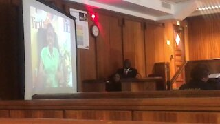 UPDATE 1 - Defence shows video of Cheryl Zondi devoted to Omotoso (QEv)