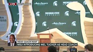 Mel Tucker Press Conference & Naming as MSU Football Coach