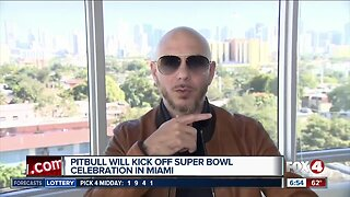 Miami native Pitbull to perform before the Super Bowl