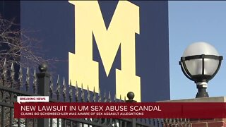 New lawsuit in U-M sex abuse scandal