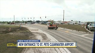 Gateway Expressway Project changes St. Petersburg-Clearwater International Airport entrance location