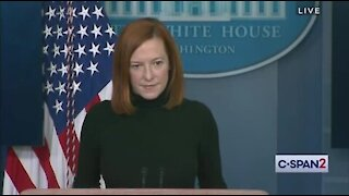 Psaki Refuses to Answer Question About Covid 'Relief' Funding Abortion