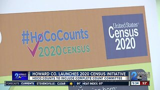 Howard County launched 2020 census initiative on Wednesday