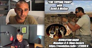 "10.11.21 ""The Tipping Point"" on Revolution Radio, Guest Jason Shurka"