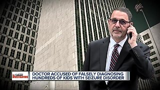 Doctor accused of falsely diagnosing hundreds of kids with seizure disorder