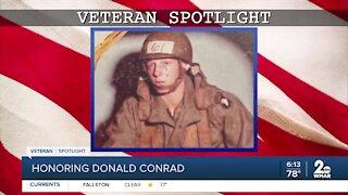 Veteran Spotlight: Donald Conrad