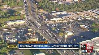 Temporary improvement project coming to busy Pasco County intersection