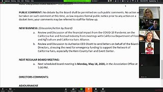 Kern County Fair Board addresses state audit