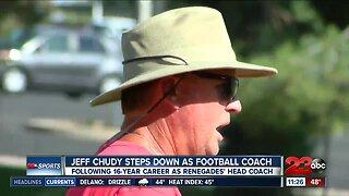 Jeff Chudy announces retirement as Bakersfield College head football coach