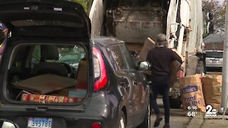Baltimore City DPW will not resume curbside recycling collections next week