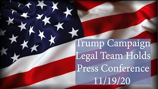 Trump Team Press Conference 11/19/20