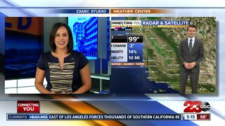 23ABC Evening weather update for August 3, 2020