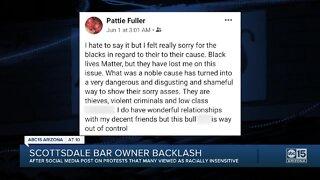 Scottsdale bar owner faces backlash over social media post