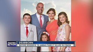Funeral held for Abbas family killed in Kentucky crash