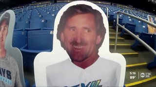 Longtime Tampa Bay Rays fan memorialized on cutout
