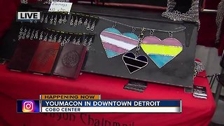 Youmacom Invades Downtown Detroit