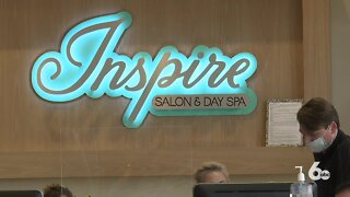 Salon and day spa hiring after receiving PPP loan