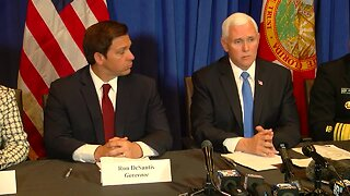 FULL NEWS CONFERENCE: Vice President Mike Pence discusses coronavirus in Palm Beach County