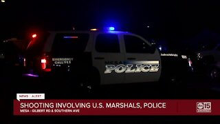 Man arrested after shooting, standoff involving U.S. Marshals and Mesa police