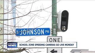 School zone speed cameras go live monday