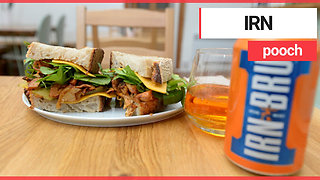 Cafe launches new vegan sandwich made from IRN BRU