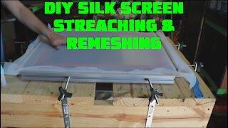 DIY Screen Printing Mesh Restretcher - How to Make Money Screen Printing
