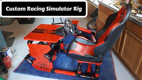 Custom DIY Racing Simulator Rig