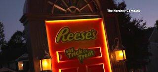Reese's Trick-or-Treat door bringing Halloween safety
