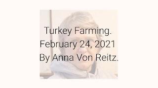 Turkey Farming February 24, 2021 By Anna Von Reitz
