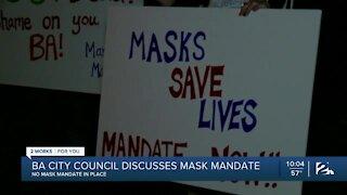 Broken Arrow residents protest lack of mask mandate