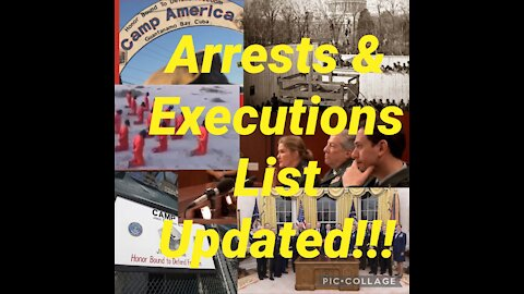 BREAKING: ARRESTS & EXECUTIONS LIST Updated