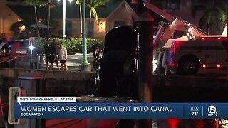 Lake Worth Beach woman dies after car plunges into Intracoastal Waterway in Boynton Beach