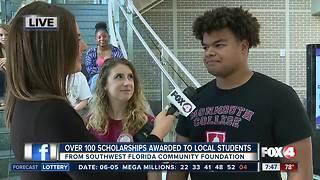 Southwest Florida Community Foundation awards 135 scholarships to local students - 7:30am live report