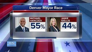 Denver mayoral runoff election - preliminary results