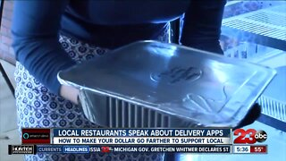 Local restaurants speak about delivery apps
