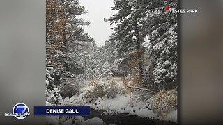 The first snow of the season! Our Colorado through your photos