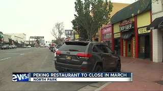 Peking Restaurant in North Park to close after 88 years