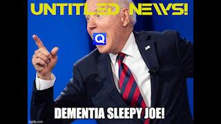 Sleepy Joe mentions QAnon