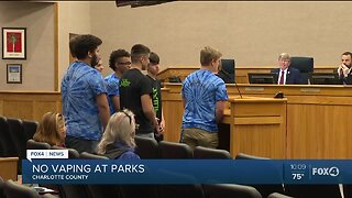 Vote to ban vaping at parks Charlotte County