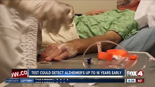 New test could detect Alzheimers up to 16 years early