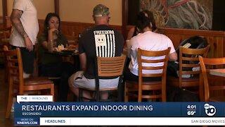 Restaurants expand indoor dining