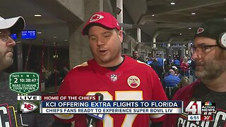KCI offering extra flights to Florida