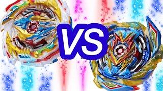 Tempest Dragon vs Brave Valkyrie | Sparking Drum vs Valt Beyblade Burst