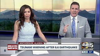 6.6 magnitude earthquake rocks buildings in Anchorage