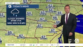 Metro Detroit Forecast: Morning fog and showers
