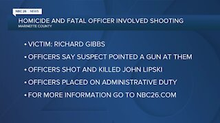 Homicide and fatal officer shooting