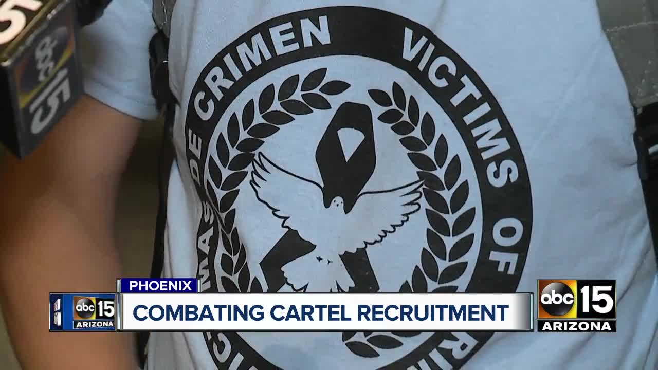 Federal authorities host educational seminar on combating cartel recruitment