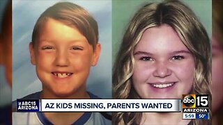 Arizona kids missing, parents wanted