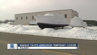 Marquis Yachts may temporarily close, impacting more than 300 workers